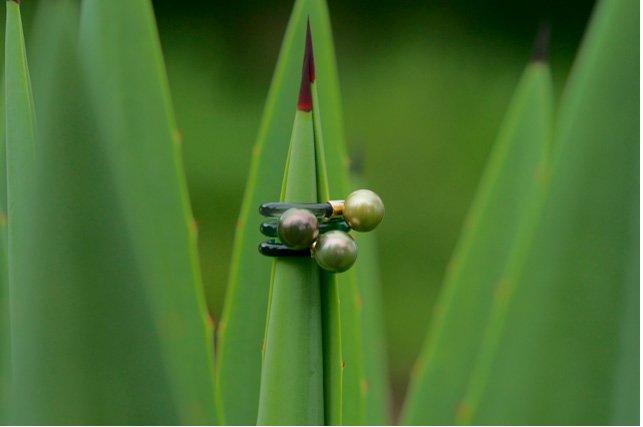 Jelly Ring (Tourmaline Green)