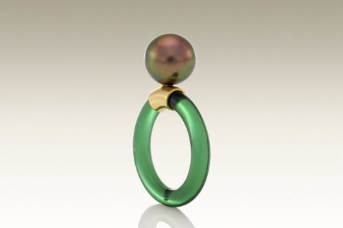 Jelly Ring (Tourmaline Green)